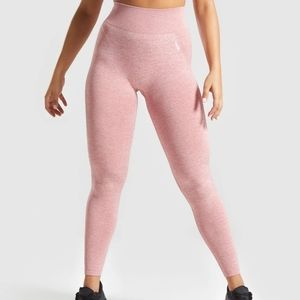 Gymshark flex high waisted leggings pink